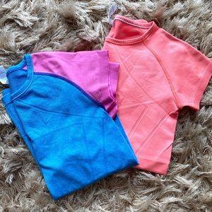 Girl's Lululemon Ivivva Short Sleeve T Shirts